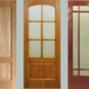 Двери из массива дуба фото