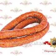 Колбаса Молодечненская тминная полукопченая бессортовая фото