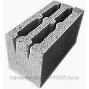 Блок керамзитобетонный М75 фото