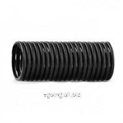 Труба дренажная SN4 однослойная без фильтра 200x25000 PPD фото