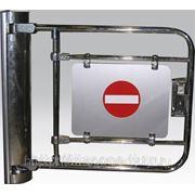 Калитки электромеханические с гидромеханическим доводчиком К32МХром, К32МпрХром, К32МлвХром фото