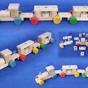 Игрушки детские (Конструкторы Деревянные) фото