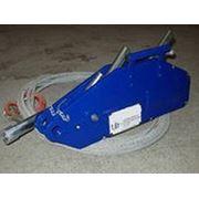 Лебедка рычажная тросовая ZNL 1600 фото