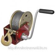 Ручная (барабанная) лебедка сорокин 1.6т, 10м 4.20 фото