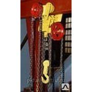 Таль ручная червячная передвижная ТРЧП, г/п 3,2т. высота подъема 6 м фото