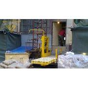 Подъемник грузовой мачтовый строительный ПМГ-630, Н=10 м фото