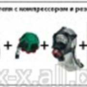 Шланговая система для одного пользователя с компрессором и резервным дыхательным аппаратом BD mini фото