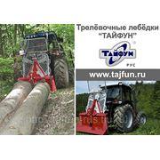 Лесозаготовительная трелёвочная лебедка EGV55AHK фото