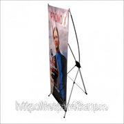 Мобильный стенд X - баннер, 80*180 фото