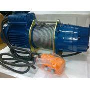 Лебедка электрическая канатная KDJ 300E фото