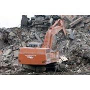 Вывоз грунта и строительного мусора фото