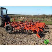 Культиватор навесной для сплошной обработки почвы (усиленная итальянская S-образная стойка 45х12 с подпружинником) КПМ-4 фото