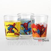 Набор стаканов спайдермэн комиксы 3шт. 160мл. низкие (860448) фото