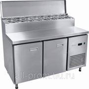 Среднетемпературный гастронормированный стол для пиццы СХС-70-01П фото