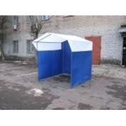 Палатка торговая, разборная «Домик» 2 x 2 из оцинкованной трубы Д 25мм фото