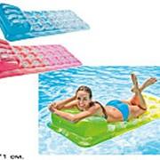Матрац надувной для плавания цветной 58890 фото
