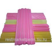 Палочки пластиковые для сахарной ваты разноцветные (100 шт.) фото