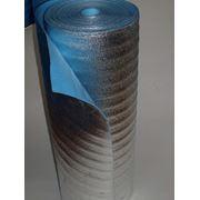 Вспененный пенополиэтилен НПЭ дублированный алюминевой фольгой фото