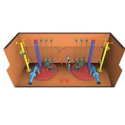 Резервуар двустенный односекционный объемом 50 м3 с всасывающей технологической системой