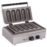 Корн-Дог (Аппарат для выпечки 5 сосисок в тесте) фото