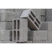 Блоки керамзито-бетонные. фото