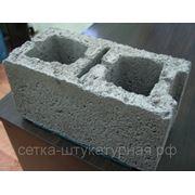 Блоки стеновые керамзитобетонные двухпустотные 400х200х200