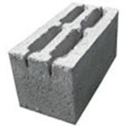 Блок керамзитобетонный 4-х щелевой фото