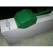 Кельма-ковш для газобетонных блоков 100мм фото