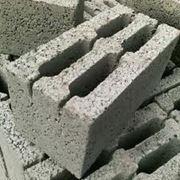 Блок бетонный стеновой, фундаментный 390*190*188 мм фото