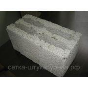 Блоки стеновые керамзитобетонные четырехпустотные 400х200х200
