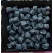 вторичный гранулят ПВД153 черного цвета фото
