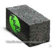 Блок керамзитобетонный стеновой полнотелый СКЦ-1 ГОСТ 6133-99 КСР-ПР-39-75-F25-1300 фото