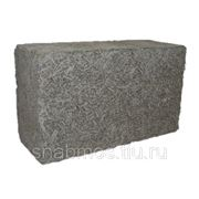 Блок арболитовый конструкционный, 370х160х500 мм фото