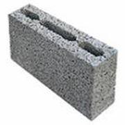 Блоки керамзитобетонные перегородочные 390*190*120 фото