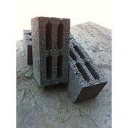 Керамзитоблок 390х190х188, вес 12,5 кг., оптом 36 руб, серый. Самара фото