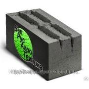 Блок пескоцементный стеновой пустотелый четырехщелевой СКЦ-1 ГОСТ 6133-99 фото
