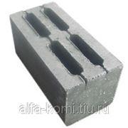 Стеновой блок КСЛ-ПР-ПС-39 190х190х390 фото