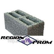 Блок керамзитобетонный М-75 (390*190*188мм) фото