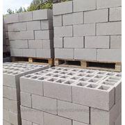 Стеновые вибропрессованные блоки фото