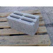 Блок керамзитобетонный 390х190х190. Паровая сушка. фото