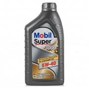 MOBIL SUPER 3000 X1 5w40 синтетика (1л) фото