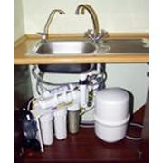 Предоставляют услуги по установке фильтров для воды в частных домах и квартирах. фото