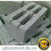 Блоки керамзитобетонные 4-х пустотные с доставкой по Башкортостану фото