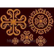 Набор крестов 01-дизайн для машинной вышивки фото