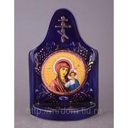 Икона крест кобальт казанская божая мать (673909) фото