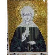 Икона Святая Блаженная Матрона фото