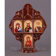 Иконостас крест коричневый (673916) фото