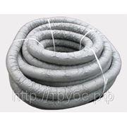 Труба дренажная с перфорацией в геотекстиле диам.63 (бухта 50 метров) фото