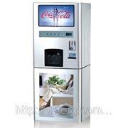 Вендинговый кофейный автомат LD801 с мультимедийной рекламой фото