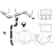 Водосточная система МП Проект (круглого сечения, большого диаметра)